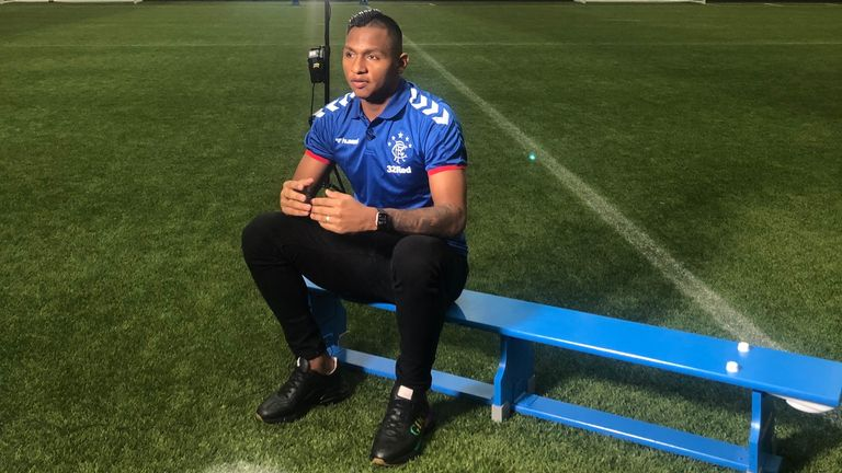 Morelos says he has been racially abused both on and off the pitch during his time at Rangers