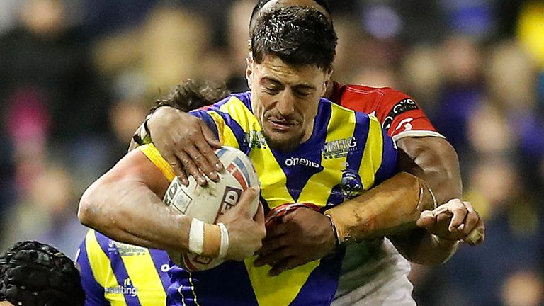 Anthony Gelling has been stood down by Warrington following his arrest