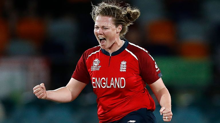 Anya Shrubsole has taken 101 wickets in 75 T20 internationals for England