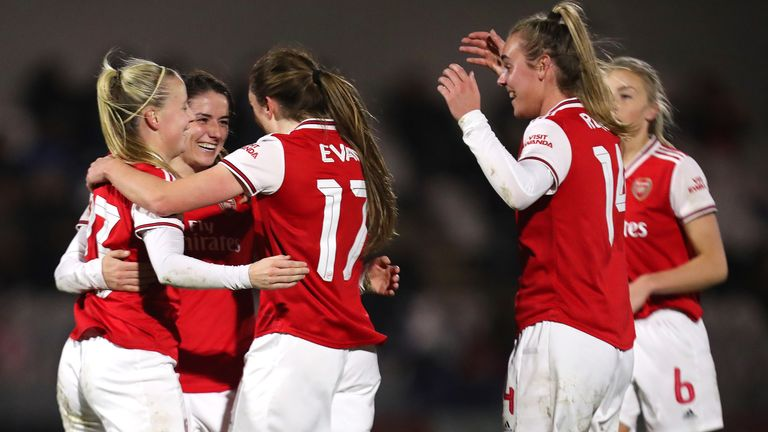Arsenal Women will face Lewes next Sunday in their rearranged FA Cup fifth-round game
