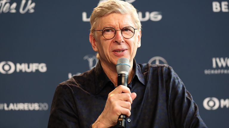 Arsene Wenger was speaking ahead of the Laureus World Sports Awards