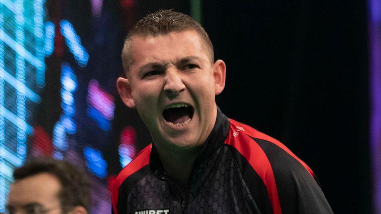Nathan Aspinall beats MVG in Cardiff