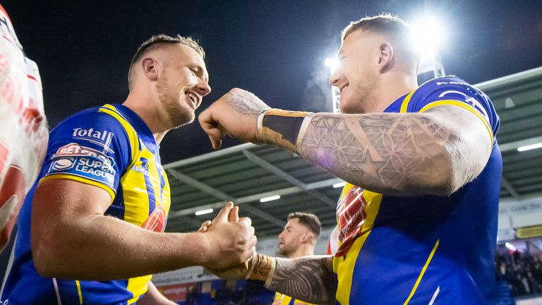 Ben Currie and Josh Charnley played starring roles as Warrington beat St Helens