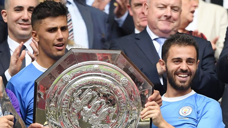 Man City won the Community Shield back in August