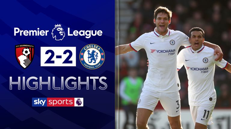 Highlights from Bournemouth vs Chelsea