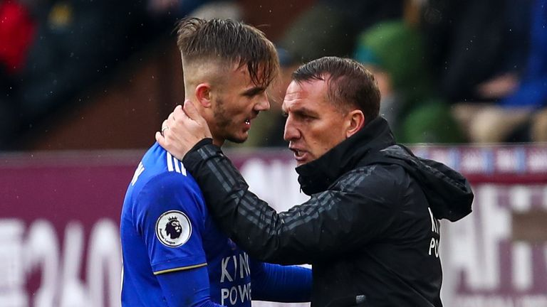Brendan Rodgers is keen to keep James Maddison at Leicester