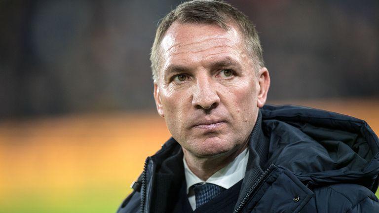Leicester City head coach Brendan Rodgers