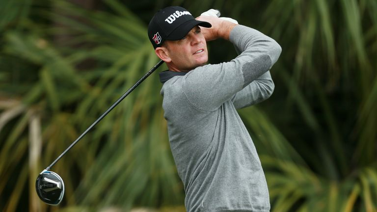 Brendan Steele during the first round of the Honda Classic