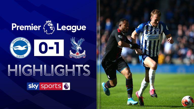 Brighton 0-1 Crystal Palace