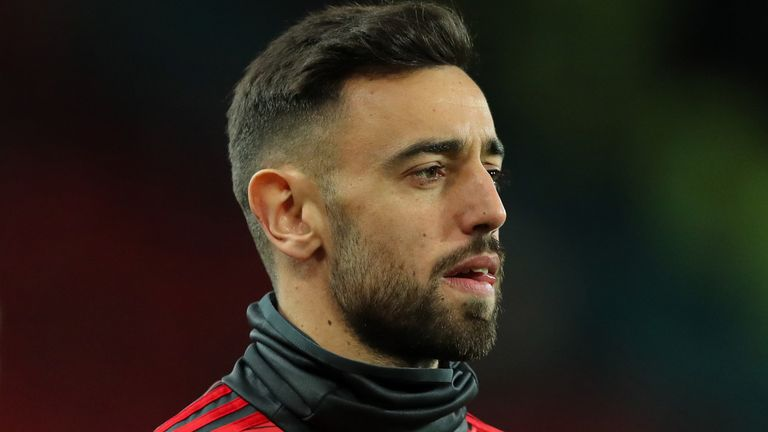Bruno Fernandes was named the Portuguese league's player of the year in 2018 and 2019