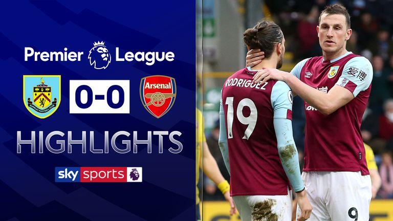 Burnley 0-0 Arsenal