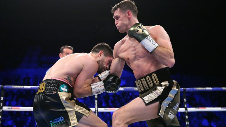 Callum Smith (R) beat John Ryder last time out
