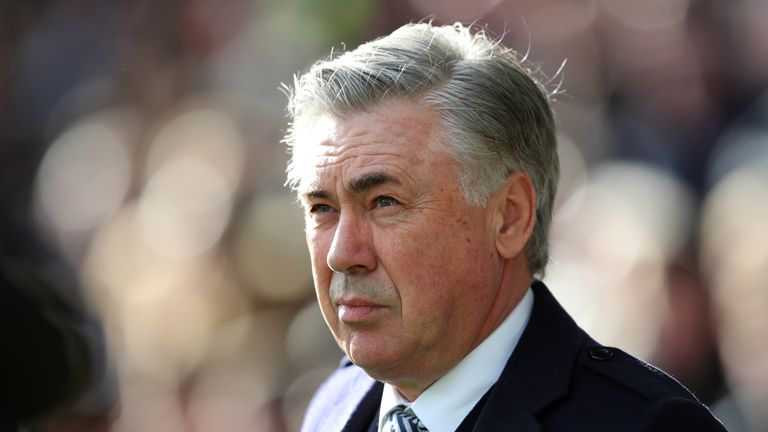 Everton manager Carlo Ancelotti was proud of his side's crucial win over Crystal Palace at Goodison Park