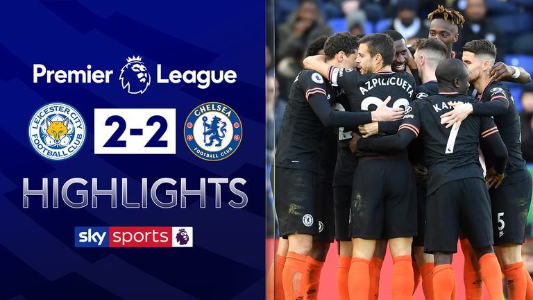 Leicester 2-2 Chelsea
