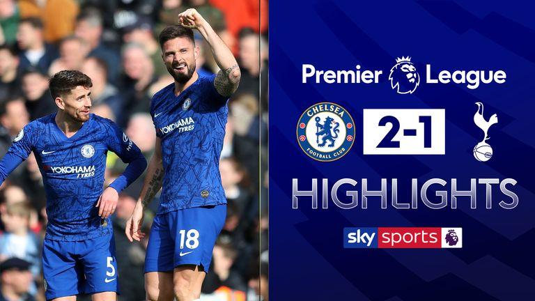 Chelsea beat Tottenham