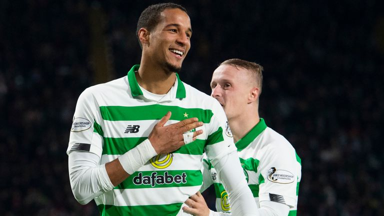 Christopher Jullien extended Celtic's lead with another goal to add to his tally