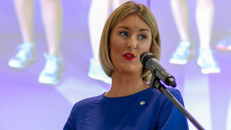 Netball Scotland's CEO Claire Nelson took to social media to share the decision