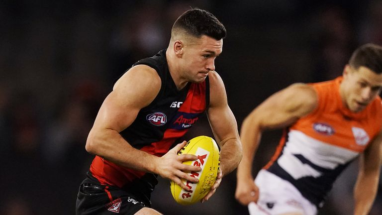 McKenna has become a first-team regular for Essendon in recent seasons