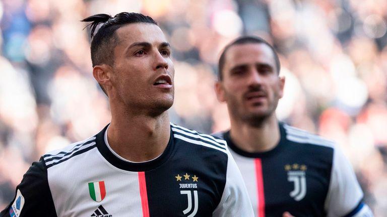 Cristiano Ronaldo scored two penalties against Fiorentina