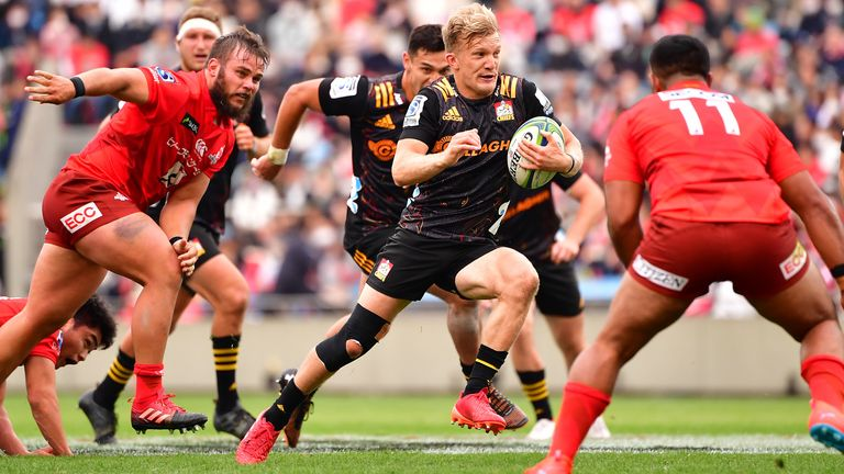 Damian McKenzie played a key role for the Chiefs against the Sunwolves