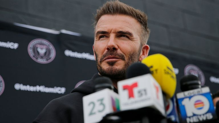 David Beckham is not anxious about Inter Miami missing a DP