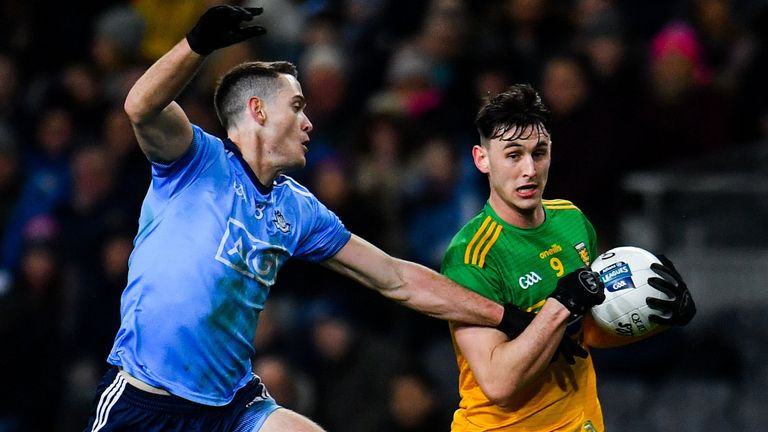 Donegal dominated much of the first half