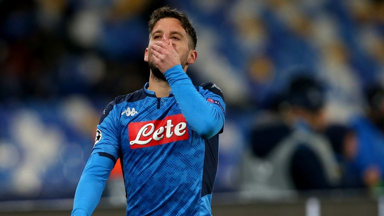 Mertens was forced off injured early in the second period