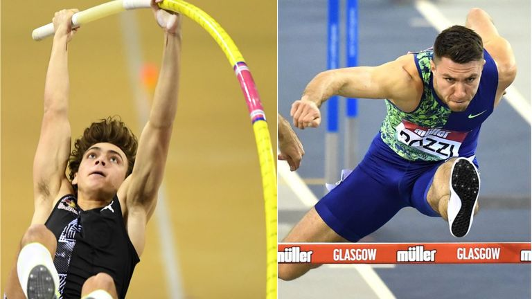 Armand Duplantis and Andrew Pozzi are in good nick ahead of the outdoor season