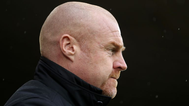 Sean Dyche doesn't agree with changing the offside rule