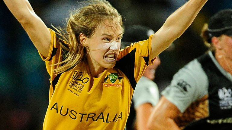 Ellyse Perry made a vital intervention with her boot in 2010