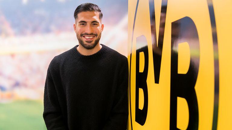 Borussia Dortmund unveil new signing Emre Can