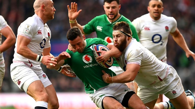 England v Ireland at Twickenham