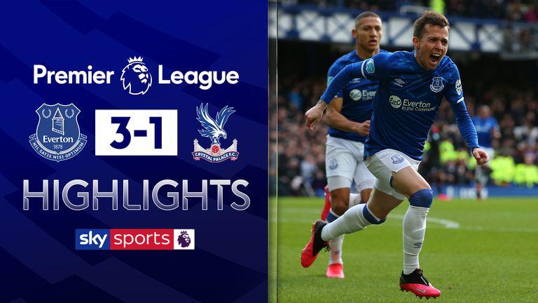 Everton v Palace