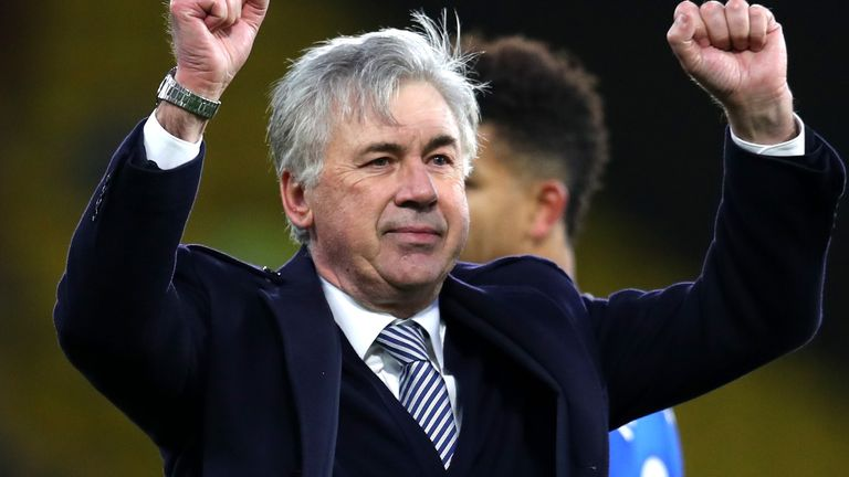 Carlo Ancelotti refused to get carried away despite an important win at Watford