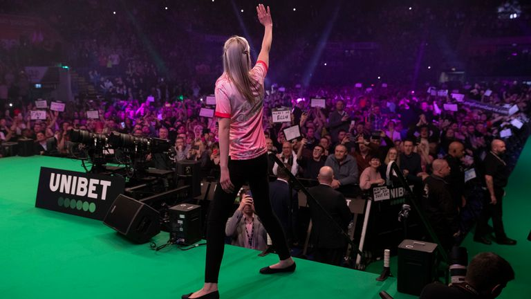 Fallon Sherrock has been handed a spot in the World Series of Darts Finals after her New York debut was postponed due to the coronavirus pandemic