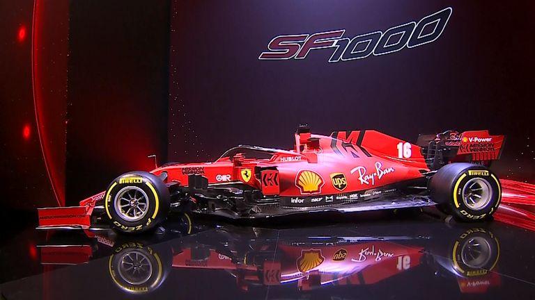 Take a look at Ferrari's 2020 F1 challenger as the SF1000 is unveiled at the Teatro Municipale Romolo Valli in the city of Reggio Emilia.