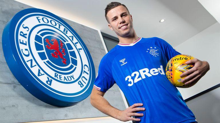 Rangers have signed Florian Kamberi from Hibernian