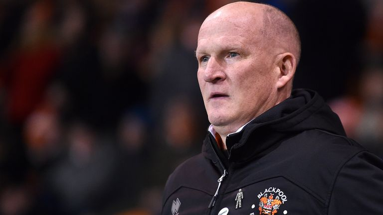 Grayson was sacked by Blackpool in February