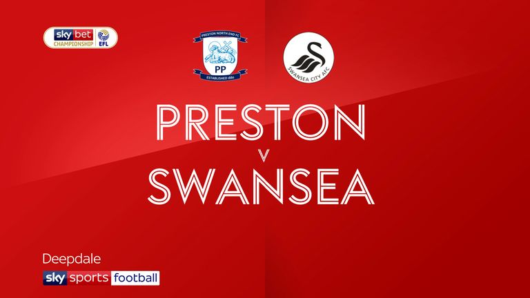 Highlights of the Sky Bet Championship match between Preston and Swansea.