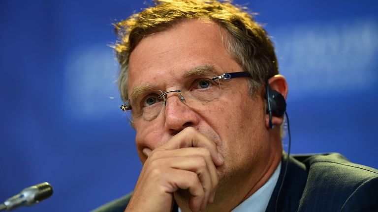 Former FIFA secretary general Jerome Valcke