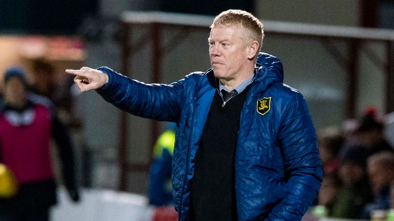 Gary Holt has been in charge at Livingston for 18 months