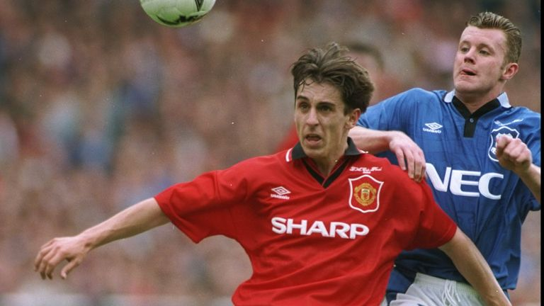 'In 1995, we went down three days before the game, it was just completely abnormal. The build-up to the game is so long'
