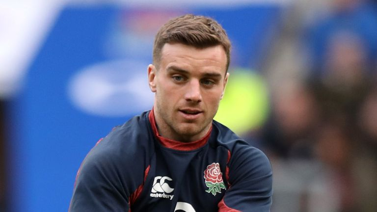 Ford trains as England prepare for Sunday's Six Nations match against Ireland