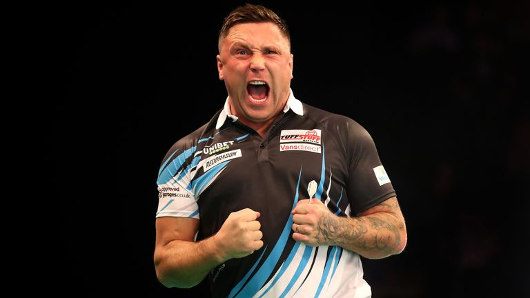 Gerwyn Price battled back from 6-2 down to grab a point against Michael Smith