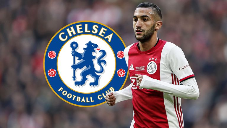 Hakim Ziyech signed a contact with Ajax until 2022 in the summer