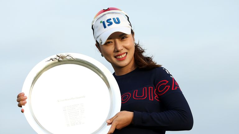 Hee Young Park won the LPGA Tour title just months after she considered quitting