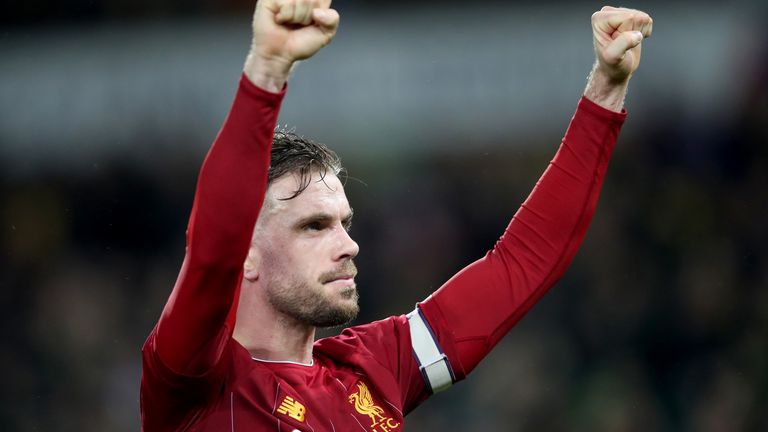 Liverpool captain Jordan Henderson makes his return from injury