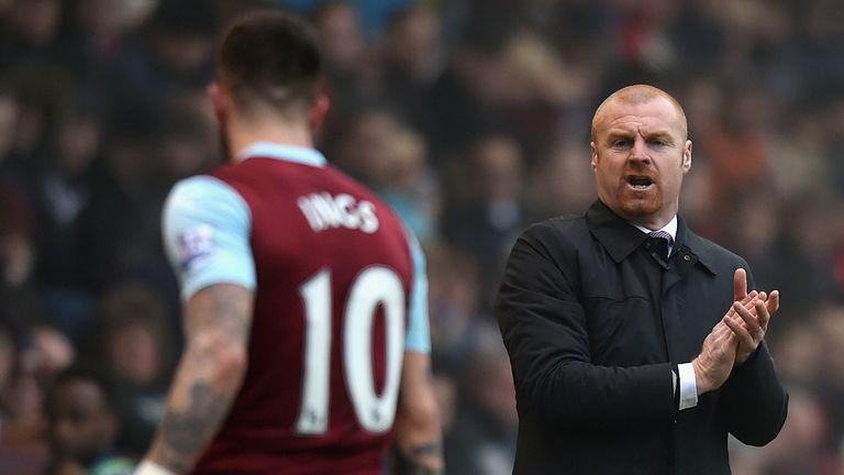 Danny Ings played for Sean Dyche when he was at Burnely
