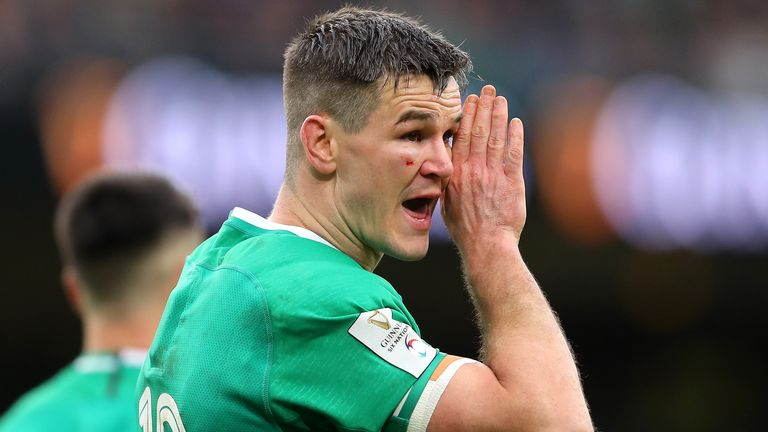 Ireland captain Johnny Sexton has scored 23 points in the 2020 Six Nations