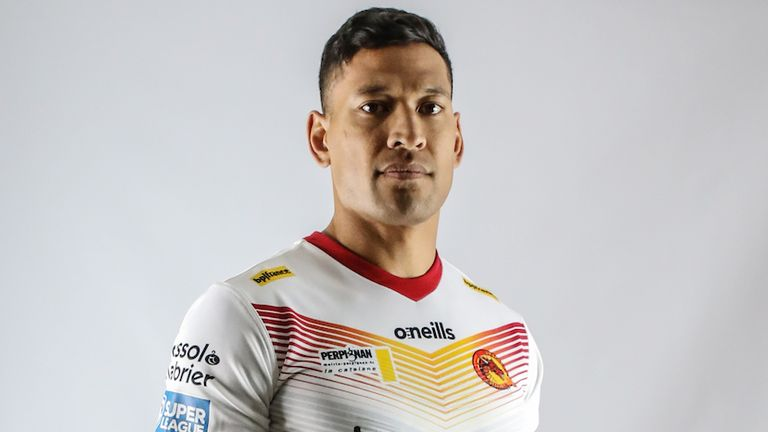 By January 2020, Folau was back in professional sport in rugby league with Catalans in France